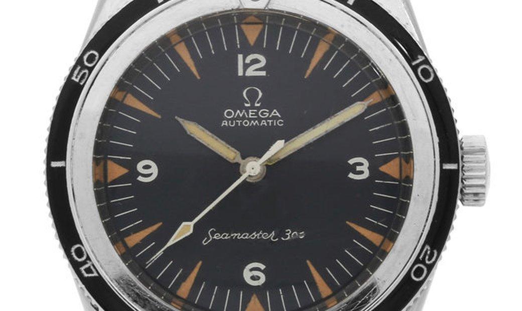 Omega Seamaster 300  165.014-62, Baton, 1962, Used, Case material Steel, Bracelet mater