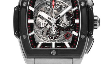 Hublot Spirit of Big Bang Chronograph 601.NM.0173.LR, Baton, 2018, Very Good, Case mate