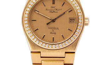 IWC Ingenieur 9703, Baton, 1983, Very Good, Case material Yellow Gold, Bracelet materia