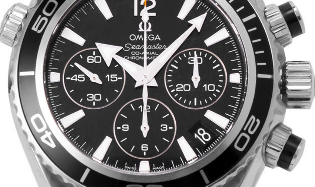 Omega Seamaster Planet Ocean 222.32.38.50.01.001, Baton, 2016, Very Good, Case material