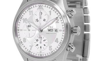 IWC Pilots Chronograph IW371705, Arabic Numerals, 2000, Good, Case material Steel, Brac