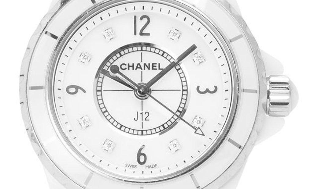 Chanel J12 H2570, Baton, 2011, Good, Case material Ceramic, Bracelet material: Ceramic