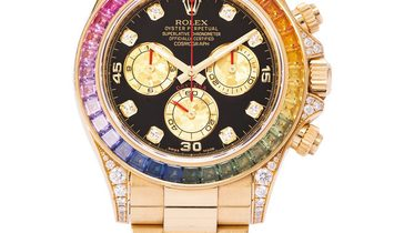 Rolex Daytona 116598RBOW, Baton, 2013, Very Good, Case material Yellow Gold, Bracelet m