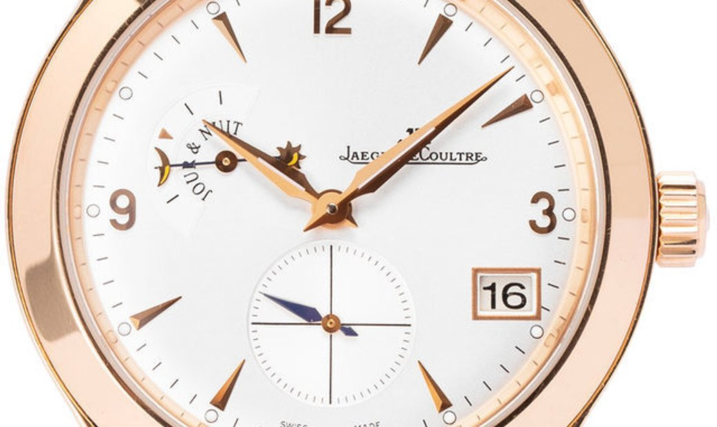 Jaeger-LeCoultre Master Control Hometime Q1622420 147.2.05.S, Baton, 2014, Very Good, C