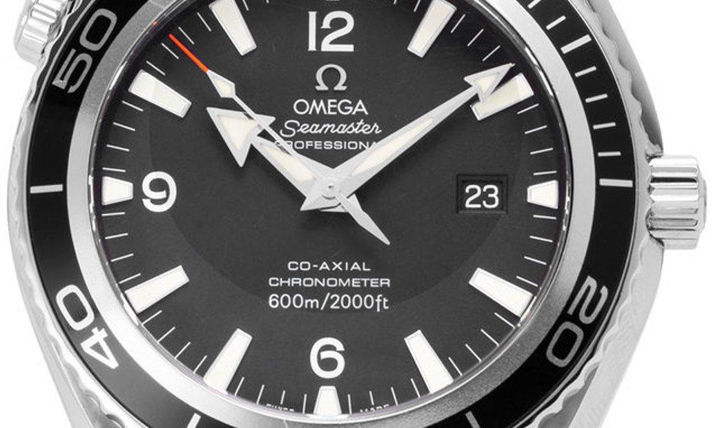 Omega Seamaster Planet Ocean Big Size 2900.50.91, Arabic Numerals, 2008, Good, Case mat