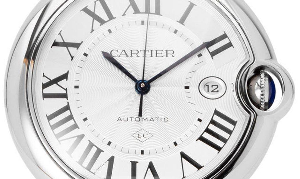 Cartier Ballon Bleu W69012Z4 3001/3765, Roman Numerals, 2013, Very Good, Case material