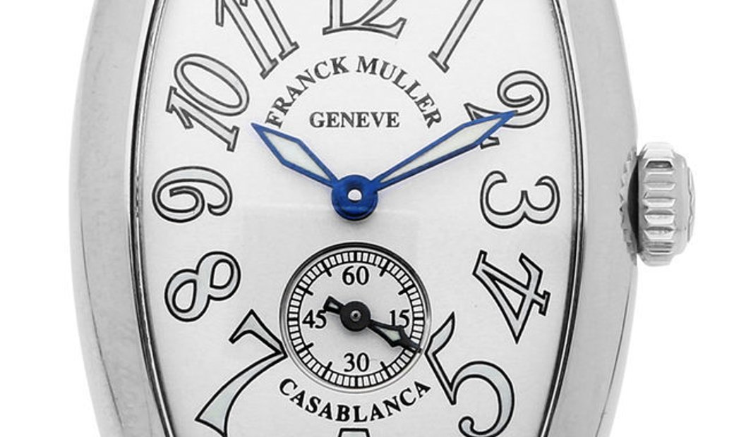 Franck Muller Casablanca 1750 , Arabic Numerals, 2015, Very Good, Case material Steel,