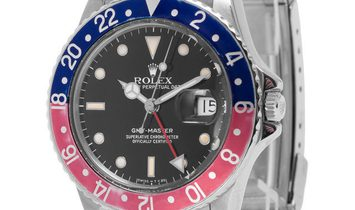 Rolex GMT-Master 16750, Baton, 1986, Used, Case material Steel, Bracelet material: Stee
