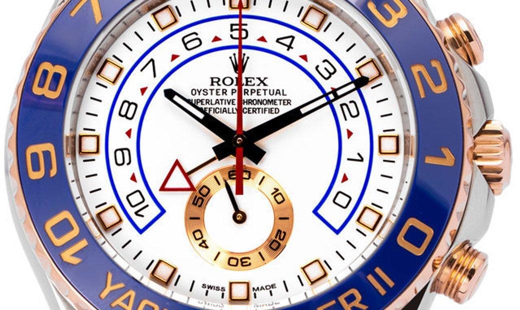Rolex Yacht-Master II 116681, Baton, 2015, Very Good, Case material Steel, Bracelet mat