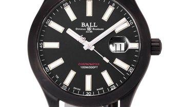 Ball Engineer II NM2028C-L4CJ-BK, Baton, 2017, Used, Case material DLC, Bracelet materi