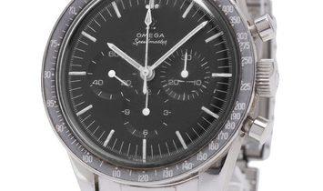 Omega Speedmaster Moonwatch Chronograph ST 105.003-65, Baton, 1968, Used, Case material