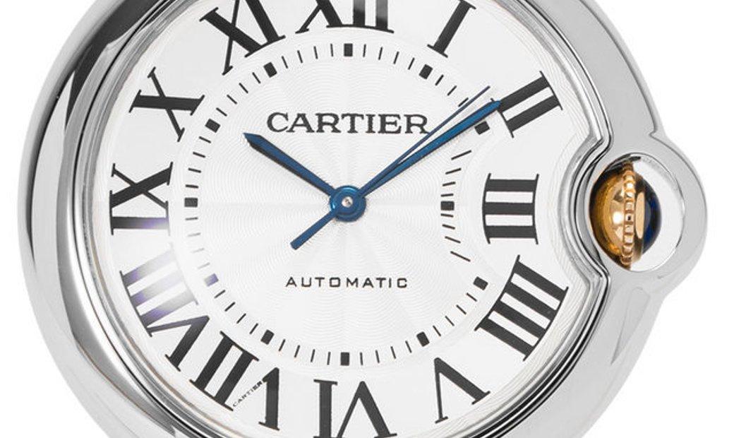 Cartier Ballon Bleu W6920047 3284, Roman Numerals, 2019, Very Good, Case material Steel