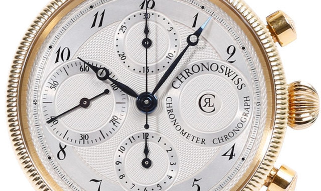 Chronoswiss Chronometer CH7522CD, Arabic Numerals, 1992, Very Good, Case material Steel