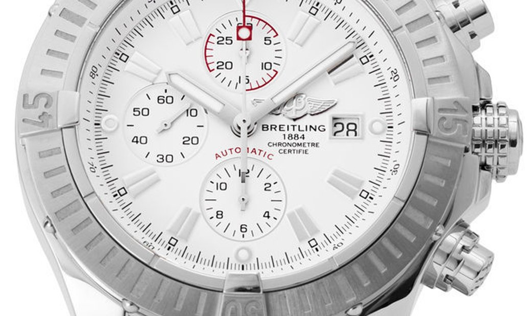 Breitling Super Avenger A13370, Baton, 2013, Very Good, Case material Steel, Bracelet m