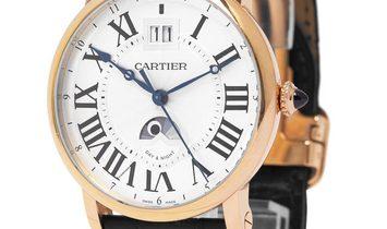 Cartier Rotonde De Cartier W1556220 3477, Roman Numerals, 2013, Very Good, Case materia