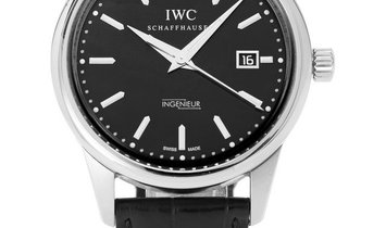 IWC Ingenieur IW323301, Baton, 2012, Good, Case material Steel, Bracelet material: Leat