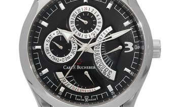 Bucherer Manero  00.10901.08.36.01 , Baton, 2015, Very Good, Case material Steel, Brace