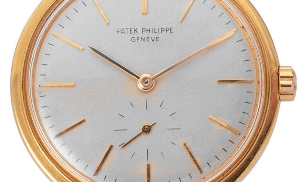 Patek Philippe Calatrava 3429, Baton, 1960, Good, Case material Yellow Gold, Bracelet m