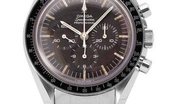 Omega Speedmaster Moonwatch Chronograph 105.012-65, Baton, 1965, Used, Case material St
