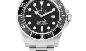 Rolex Sea-Dweller 116600, Baton, 2014, Very Good, Case material Steel, Bracelet materia