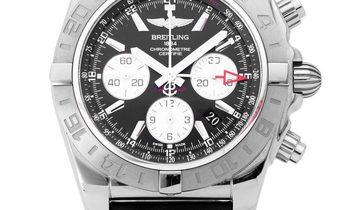 Breitling Chronomat 44 GMT AB042011.BB56.435X.A20BA.1, Baton, 2013, Very Good, Case mat