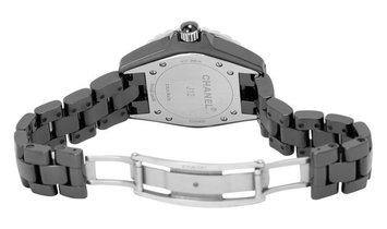 Chanel J12 H2428, Diamonds, 2013, Very Good, Case material Ceramic, Bracelet material: