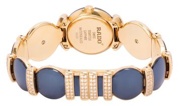 Rado Coupole R91172208, Plain, 2007, Good, Case material Yellow Gold, Bracelet material