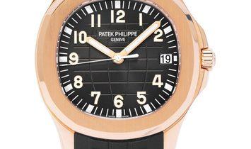 Patek Philippe Aquanaut 5167R, Arabic Numerals, 2017, Very Good, Case material Rose Gol