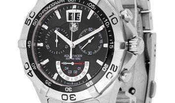 TAG Heuer Aquaracer CAF101A.BA0821, Baton, 2017, Good, Case material Steel, Bracelet ma