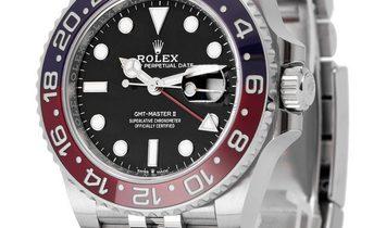 Rolex GMT-Master II 126710BLRO, Baton, 2019, Very Good, Case material Steel, Bracelet m