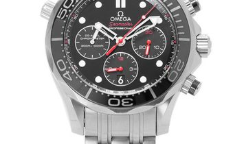 Omega Seamaster Diver 300 M Chronograph 212.30.44.50.01.001, Baton, 2015, Very Good, Ca