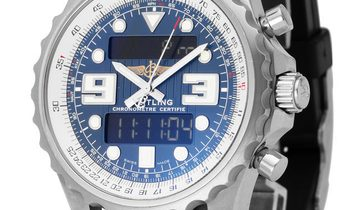 Breitling Chronospace A78365, Arabic Numerals, 2016, Very Good, Case material Steel, Br