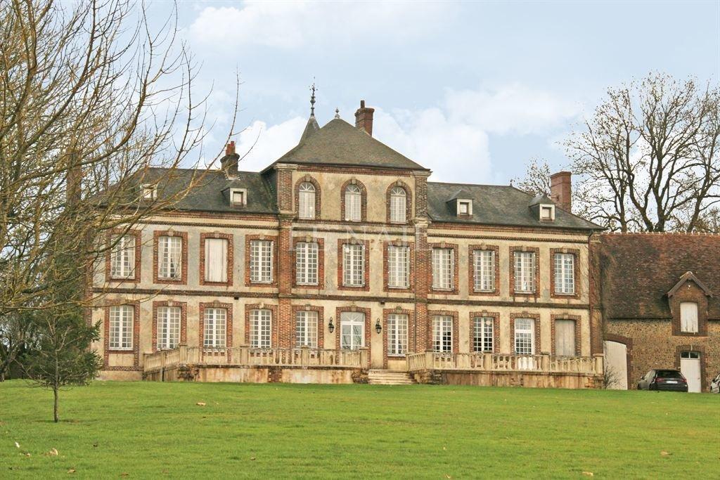 Castle in L'Aigle, Normandy, France 1