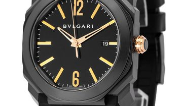 Bvlgari Octo  102581, Baton, 2017, Very Good, Case material Steel, Bracelet material: R