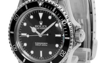 Rolex Submariner 5513, Baton, 1986, Good, Case material Steel, Bracelet material: Steel