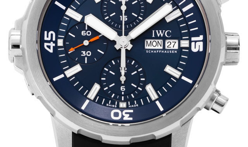 IWC Aquatimer Chronograph IW376805, Baton, 2018, Very Good, Case material Steel, Bracel