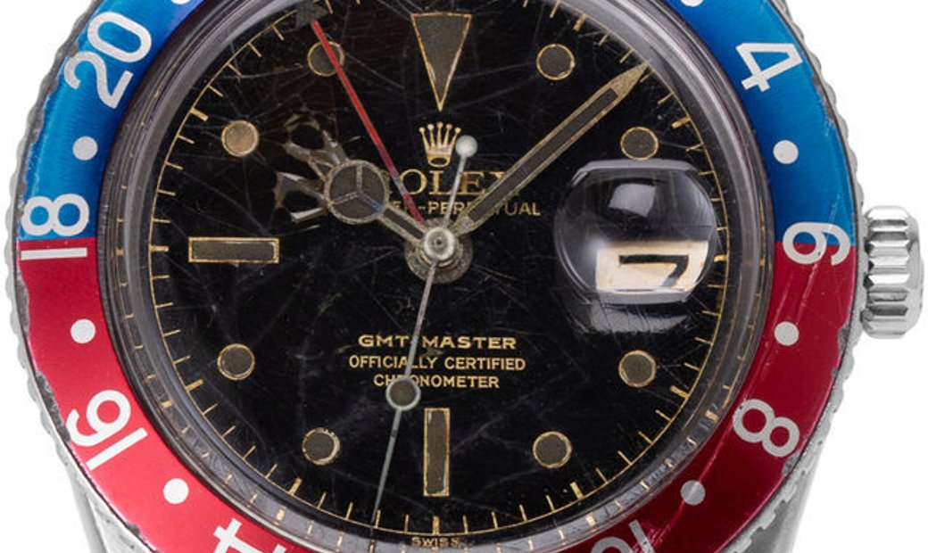 Rolex GMT-Master 6542, Baton, 1959, Used, Case material Steel, Bracelet material: Steel