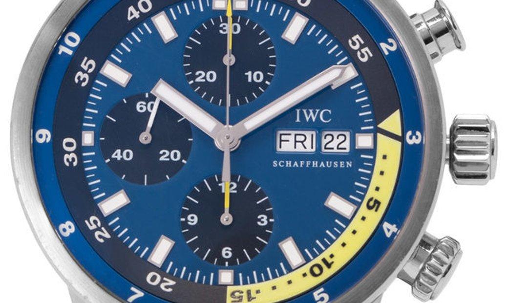 IWC Aquatimer IW378203, Baton, 2009, Used, Case material Steel, Bracelet material: Rubb
