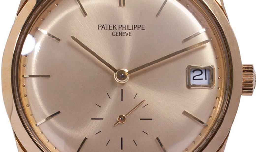 Patek Philippe Calatrava 3558, Baton, 1972, Very Good, Case material Yellow Gold, Brace