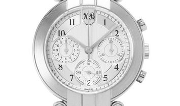Harry Winston Premier Cal. 1185, Arabic Numerals, 1994, Very Good, Case material Platin