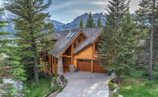 House in Canmore, Alberta, Canada