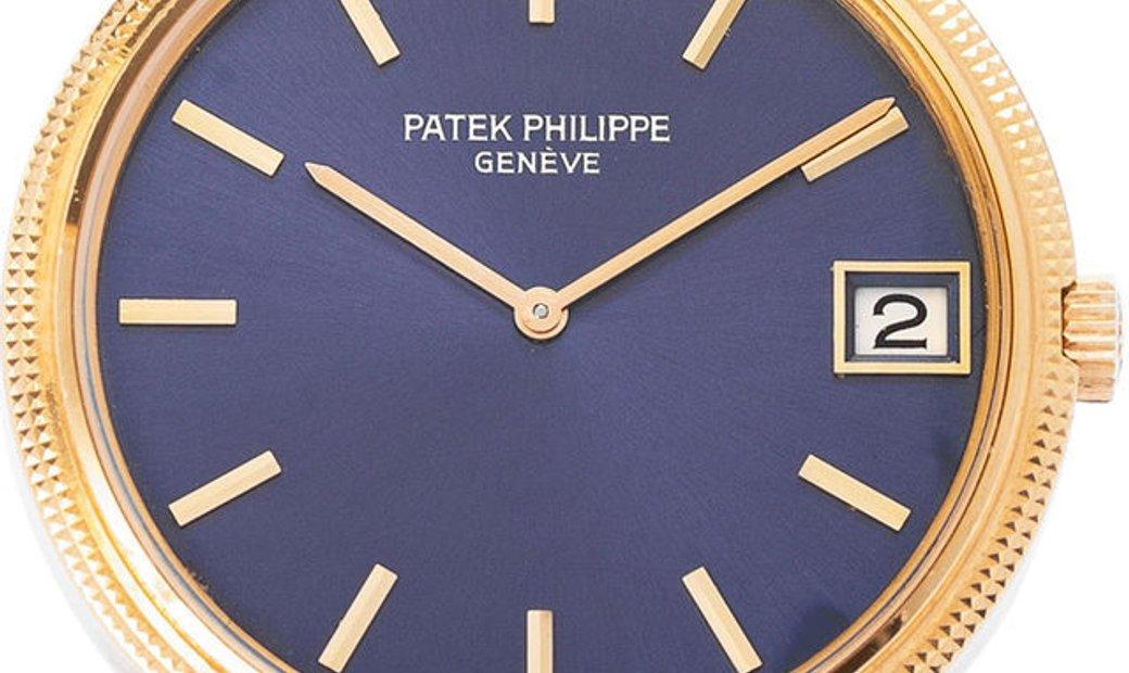 Patek Philippe Calatrava 3602, Baton, 1974, Very Good, Case material Yellow Gold, Brace