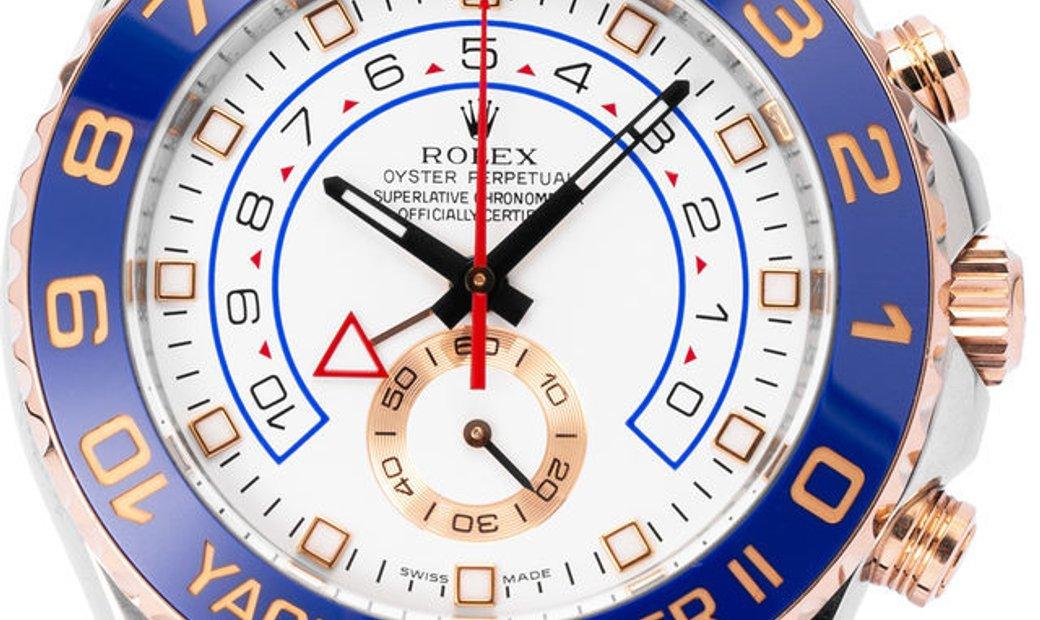 Rolex Yacht-Master II 116681, Baton, 2011, Good, Case material Steel, Bracelet material