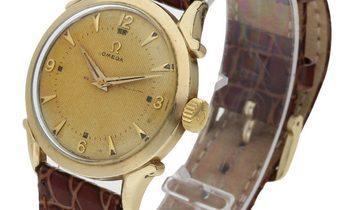 Omega Vintage 2620, Baton, 1970, Good, Case material Rose Gold, Bracelet material: Leat