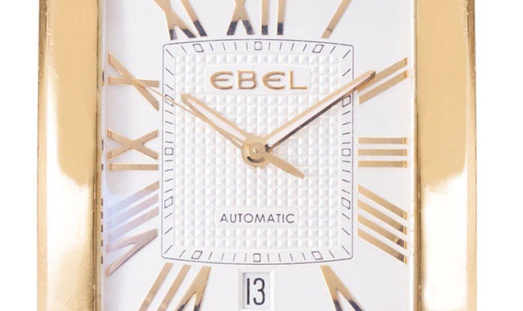Ebel Brasilia 8120M41, Roman Numerals, 2006, Very Good, Case material Yellow Gold, Brac