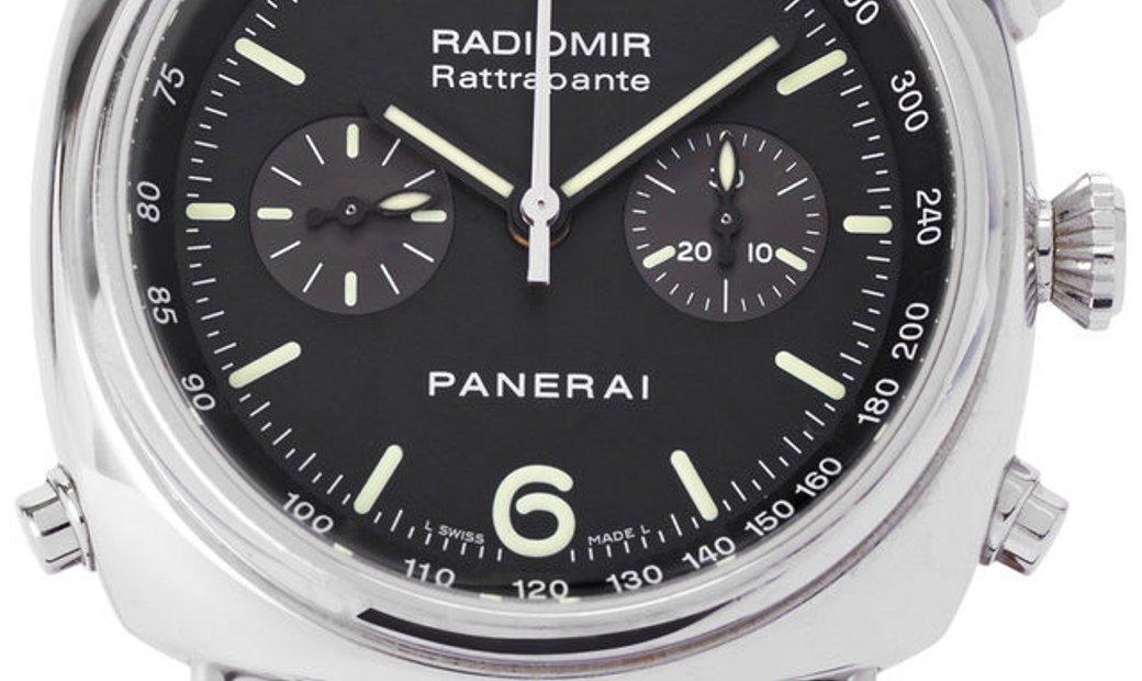 Panerai Radiomir Automatic PAM00214, Baton, 2006, Very Good, Case material Steel, Brace