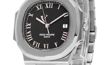Patek Philippe Nautilus 3710/1A-001, Roman Numerals, 2001, Good, Case material Steel, B