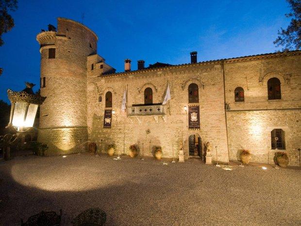 Castle in Castelleone, Umbria, Italy 1