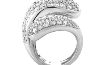 de Grisogono de Grisogono Contrario Full Diamond White Gold Ring