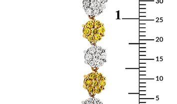 Charriol Charriol 18K Multi-Gold & Diamond Floral Pendant Necklace 08-09-7355-11
